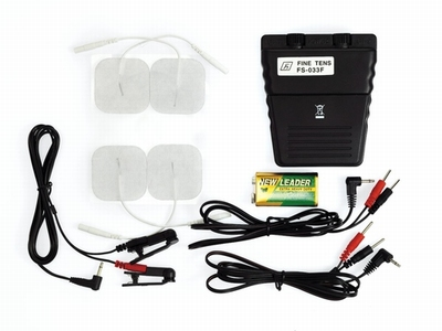 Electrosex Powerbox set kompleet met tepelklemmen en pads
